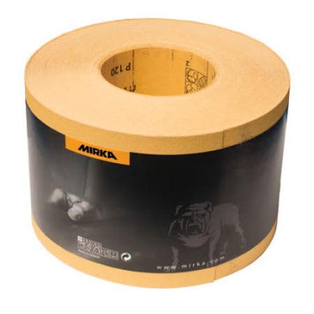 Mirka Gold Proflex Paper Roll 115mm x 50m