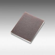 sia 9214 foam flat double sided abrasive pad 98 x 120 x 13mm