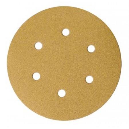 Mirka Gold 150mm PSA Self Adhesive Sanding Disc 6 Hole