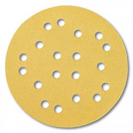 Mirka Gold 125mm Sanding Disc (19 hole)