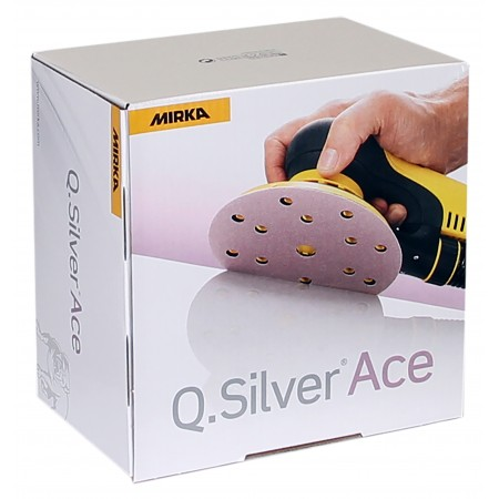 Mirka Q Silver ACE Sanding Disc 125mm (17 hole)