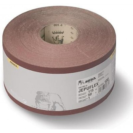 Mirka Jepuflex Antistatic 250mm x 50m Abrasive Roll