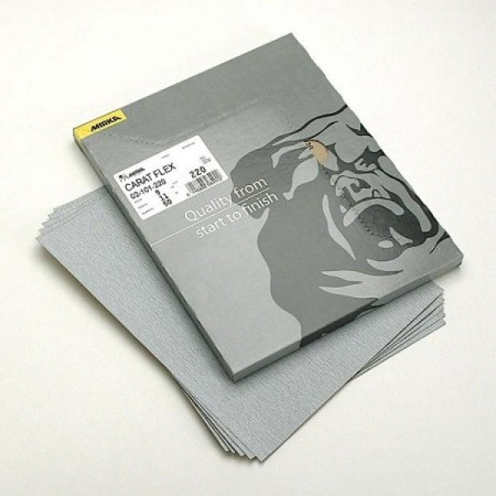Mirka Caratflex 230 x 280mm Sandpaper Sheets