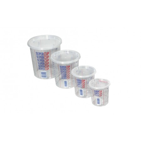 Supercup 650ml, 1300ml & 2240ml mixing cups