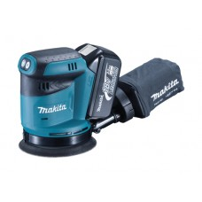 Makita DBO180RMJ 125mm 18v ROS Sander with Makpac Case