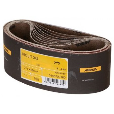 Mirka Hiolit XO 75 x 480mm Sanding Belt