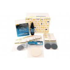 Mirka Glass Polishing Solutions kits, 77mm and 125mm