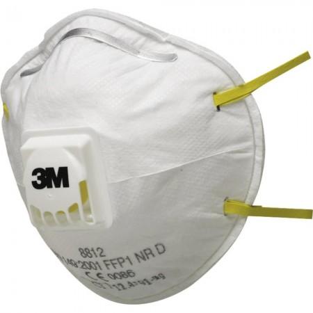 3M 8812 Premium Dust Respirator (Valved)