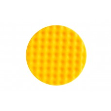 Mirka Polarshine 150 x 25mm Yellow Waffle Foam Polishing Pads (Pack of 2)
