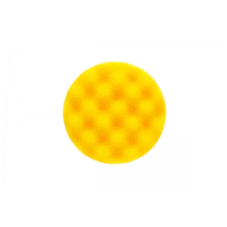 Mirka Polarshine 85 x 25mm Yellow Waffle Polishing Foam Pad (Pack of 2)
