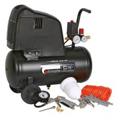 Hurricane 245/25 Compressor (Free 7Pc Kit) Oil Free