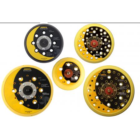 Mirka Abranet Backing Pads 77mm, 125mm & 150mm