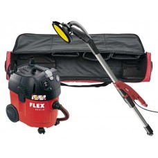 Flex GE5 R TB-L  + VCE35LAC Giraffe Wall And Ceiling Sander with Segmented Edge and 35Ltr Dust Extractor 110V