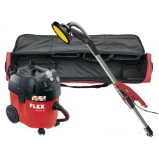 Flex GE5 TB-L  + VCE35LAC 110V Giraffe Round Head Sander with 35Ltr Dust Extractor