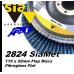 sia 2824 siamet x, 115 x 22mm flap discs (flat)