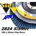 sia 2824 siamet x, 180 x 22mm flap discs (angled)