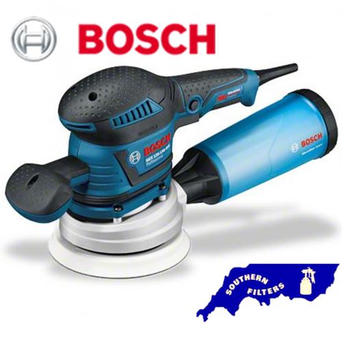 bosch gex 125mm 150mm electric sander 110v 240v southern filters. Black Bedroom Furniture Sets. Home Design Ideas