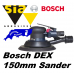 Bosch DEX 150mm ROS sander 5mm orbit