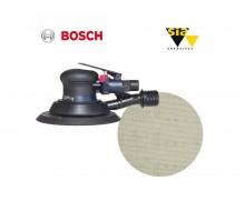 Bosch DEX 150mm ROS sander & Sianet 7900 150mm disc package deal