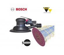 Bosch DEX 150mm ROS sander & S performance 1950 disc package deal