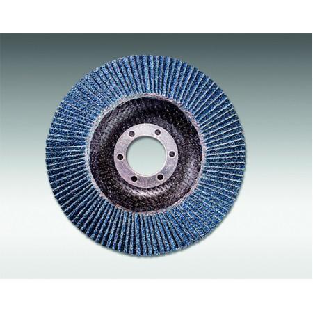 sia 2824 siamet x,125mm x 22mm flap discs (flat, plastic base)